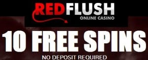 RedFlush Casino free spins