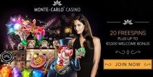 Monte Carlo Casino free spins