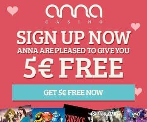 Anna Casino free spins