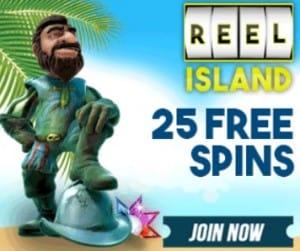 Reel Island free spins