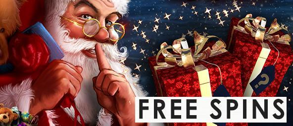 Christmas & NYE 2017/18 free spins - casino bonus calendar