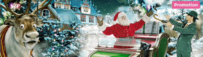 Xmas Promotions: free spins and no deposit bonuses
