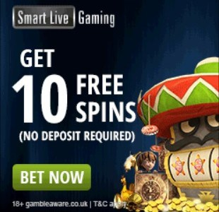 Smart Live Casino free spins