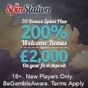 Spin Station Casino 200 free spins and $3000 welcome bonus