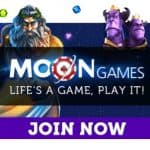 Moon Games Casino | £1500 bonus and 150 free spins | review