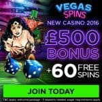 Vegas Spins | 60 free spins and 200% bonus | Online Casino