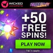 Wicked Jackpots Casino free spins