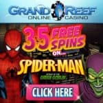 Grand Reef Casino – 35 free spins and 1000% up to $5000 free bonus