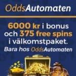 OddsAutomaten Casino – 125 free spins on video slots – no deposit bonus