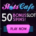 Slots Cafe Casino 150 free spins and £€$ 1200 match bonus