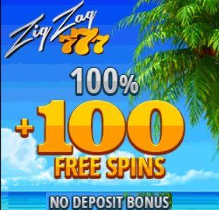 Zig Zag 777 Casino free spins