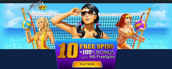 10 no deposit free spins exclusive