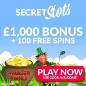 Secret Slots Casino free bonus