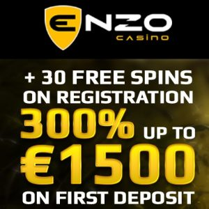 Enzo Casino free spins