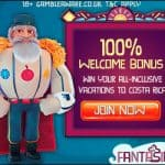FANTASINO – 100 free spins   225% bonus   €700 gratis – online casino