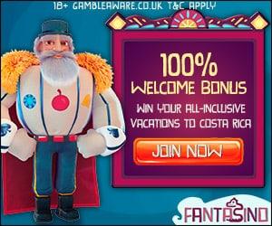 FANTASINO - 100 free spins   225% bonus   €700 gratis - online casino