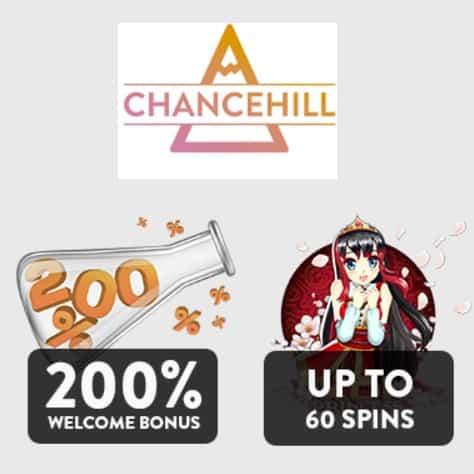 Chance Hill Casino free spins bonus