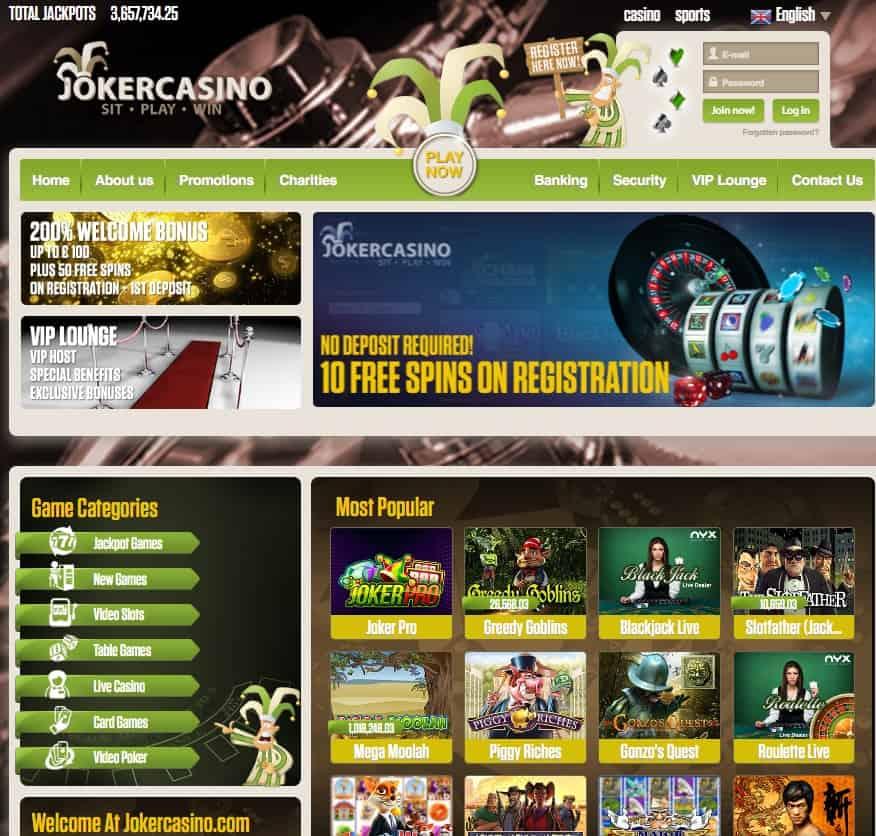 free online mobile casino joker online