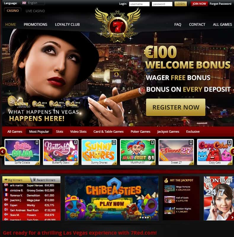 7 Red Casino Review