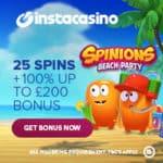 Insta Casino 25 free spins no deposit bonus – no wagering requirements