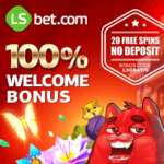 LSbet Casino & Sports | 20 exclusive free spins   $300 welcome bonus