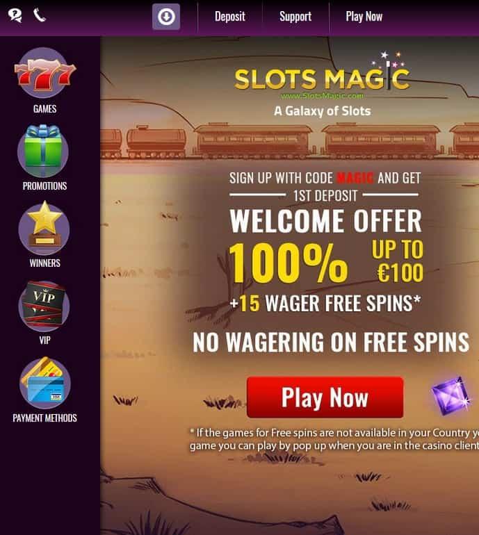 SlotsMagic.com Casino Review