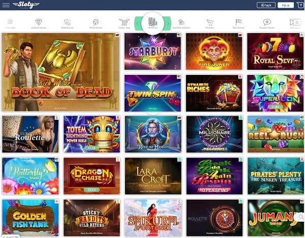 Sloty Casino Online Review & Rating