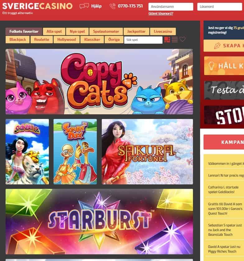 Sverige Casino Review