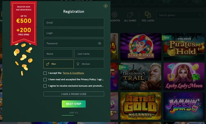 Register and Play Now