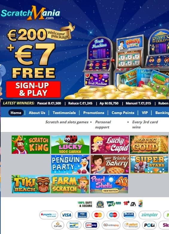 Get 7 EUR free bonus cash!