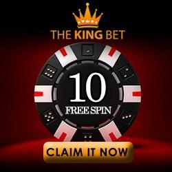 Thekingbet.com Casino | 65 free spins   150% bonus   $/€600 gratis