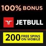 Jetbull Casino Review: 200 free spins & 100% free bonus - Slots & Sports