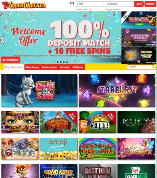 Seven Cherries Casino Review