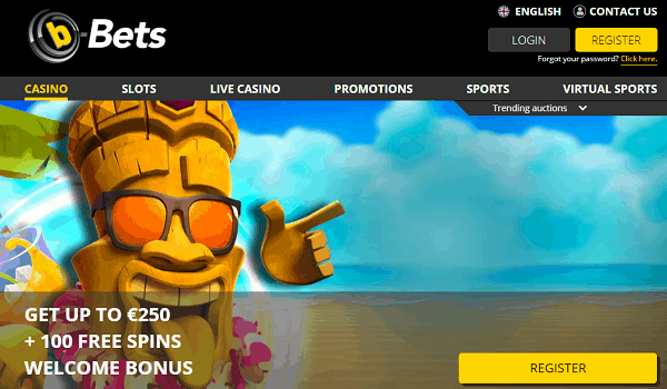 €5 free bet and 100 free spins on Slots