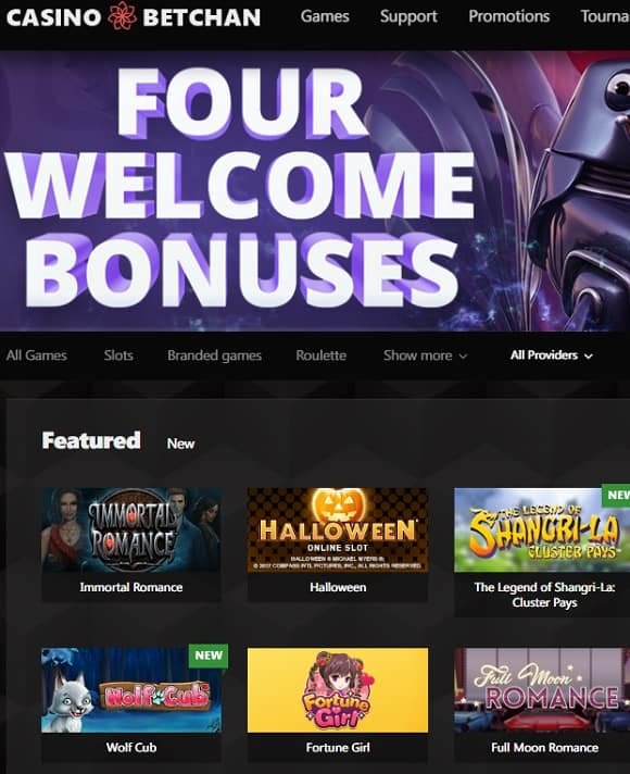Betchan Casino free bonus bitcoin