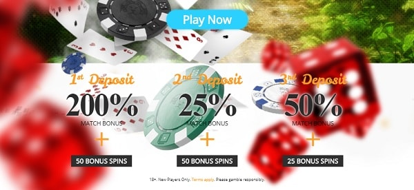 Register, login, deposit and get 5000 EUR and 50 Free Spins to CASIMBA!