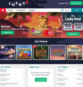 Lucky8 Casino Review