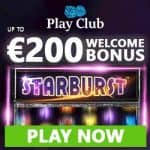 Play Club Casino €200 & 100 free spins – no deposit bonus codes!