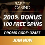 Babe Casino banner 250x250