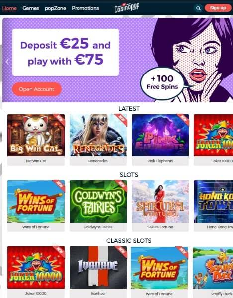 Casino POP review