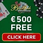 Blackjack Ballroom Casino 50 free spins & 175% up to €500 free bonus
