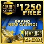 Casino Action – 50 free spins and 325% up to $/€1250 free play bonus