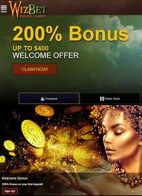 Wizbet Casino Online & Mobile free spins bonus code