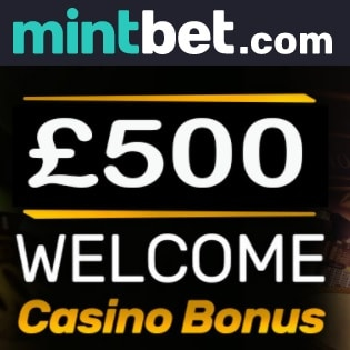 Mintbet™ - £500 free bonus on Sportsbook, Casino & Live Dealer!