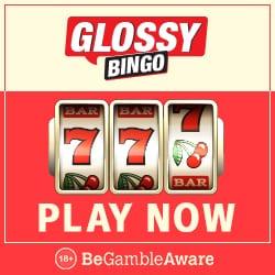Glossy Bingo Casino - 50 free spins and £100 exclusive free bonus