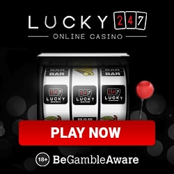 Lucky247 Casino 50 free spins and €500 free bonus