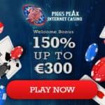Piggs Peak Casino (review & bonuses): 150% extra and 100 fee spins