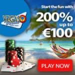 Vegas Palms Casino 100 free spins bonus no deposit required