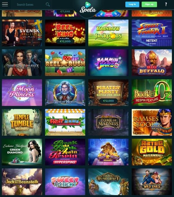Spela Casino Online Review & Rating