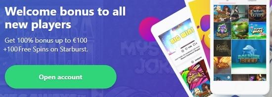 Register to online casino